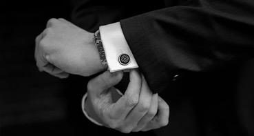 JT concept of fashion, men do not set a good men's cufflinks, let alone own taste