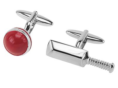 659-7R Sports Cricket Gift Cufflinks