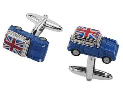 Union Jack Car Cufflinks