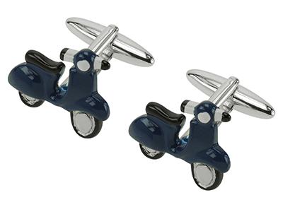 TN-617R Motor Scooter Cufflinks