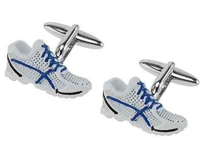 659-5R Running Shoe Cufflinks