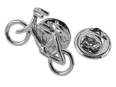 TP54-12R Bicycle Lapel Pin