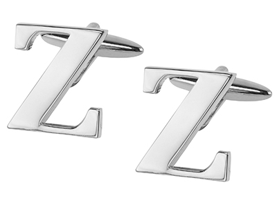 664-12R Z Alphabet Z Cufflinks For Shirt