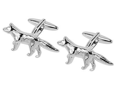 308-8R Wolf Cufflinks