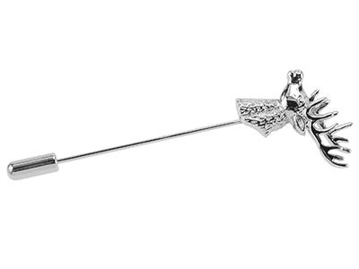 1861-7R/LP Stag Lapel Pin