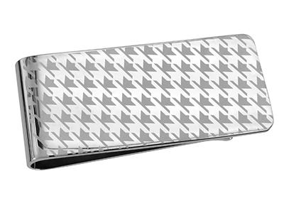 TN-1255R2 Laser Engraved Money Clip