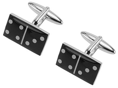 642-17R Domino Cufflinks