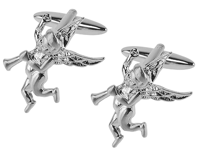 TN-1103R2 Wedding Cupid Cufflinks