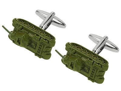 627-21R Tank Cufflinks