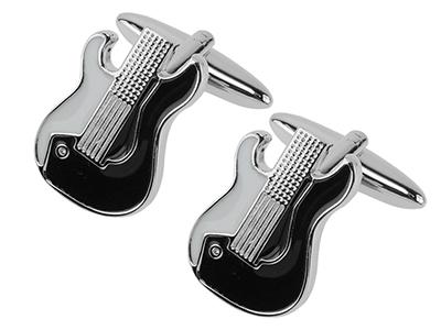 656-18R Electric Guitar Cufflinks