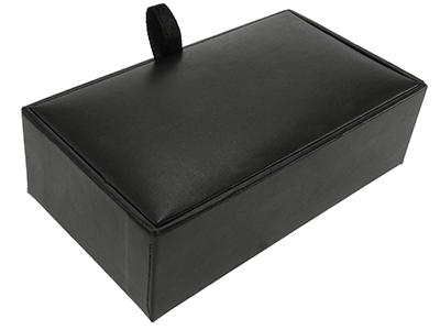Black Custom Cufflinks Gift Box
