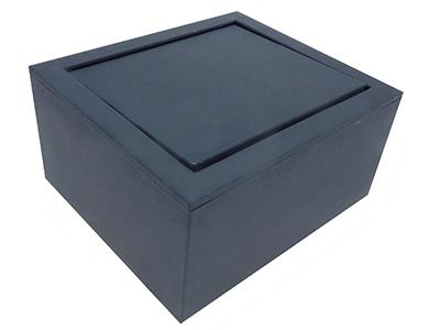 Exquisite Blue Plastic Cufflinks Gift Box