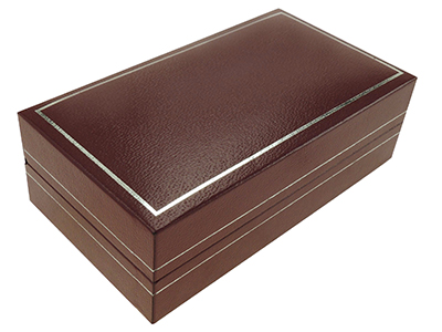 Burgundy Custom Cufflinks Gift Box