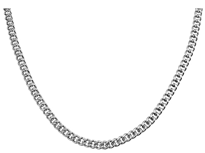 N00012R Mens Silver Chain Necklace
