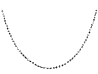 N00009R Ball Chain Mens Necklace