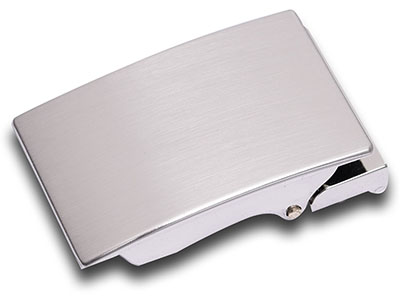 Simple Blank Automatic Belt Buckle