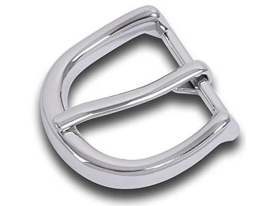 Zinc Alloy Polished Fashion Pin Belt Buckle