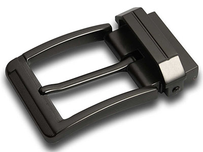 Reversible Metal Pin Buckle For Men Belt