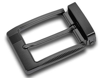Reversible Brushed Men Pin Belt Buckle