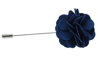 LP4-8R Mens Blue Boutonniere Lapel Flower Pins