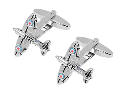 208-24R Fighter Aircraft Army Militaliy Cufflinks