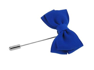 LP53-1R CF-236 Blue Bow Boutonniere Lapel Pins