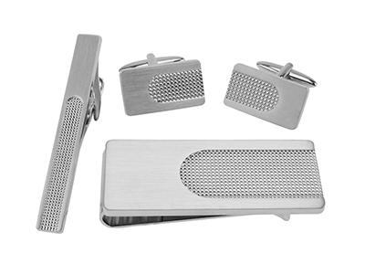 SET651-12R2 Brushed Silver Polished Sets