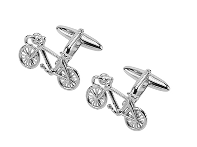 641-20R Designer Novelty Shirt Bicycle Cufflink