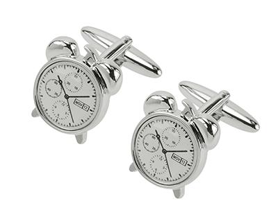 TN-1098R Alarm Clock Watch Movement Cufflinks