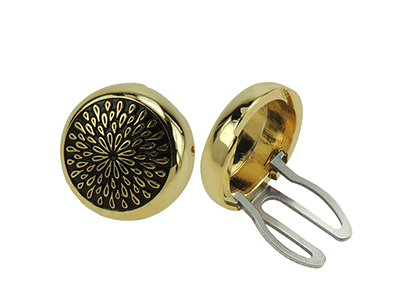 BC50-4G Gold Plated Novelty Button Cover