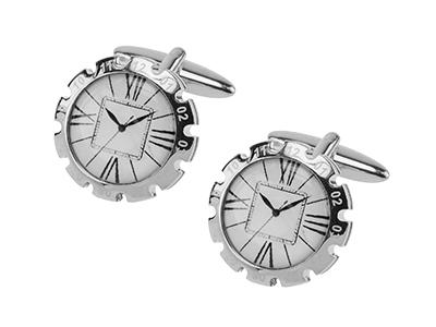 659-20R Real Mini Watch Men Cufflinks