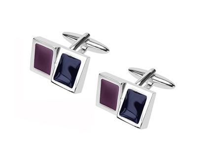 604-6R 2019 Purple Men Cufflink