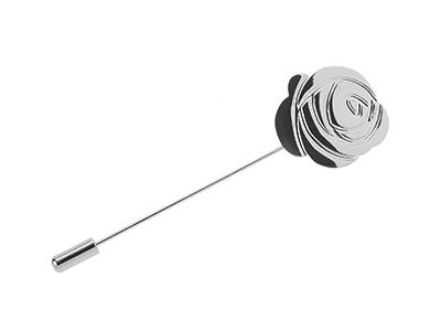TN-2077R Long Needle Rose Lapel Fantasy Pins