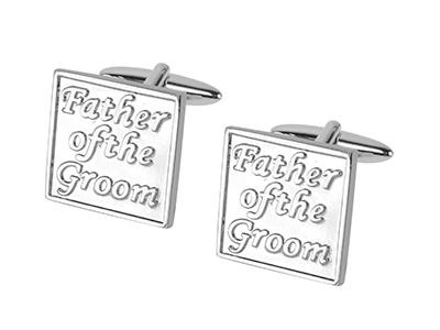 653-11R Father of the Groom Wedding Cufflinks