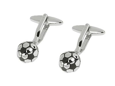 273-11R Football Club Soccer Cufflinks