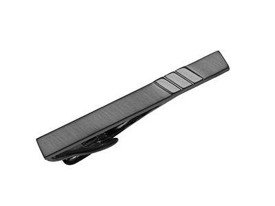 TN-3213GM2 52mm Matt Gun Metal Tie Clip
