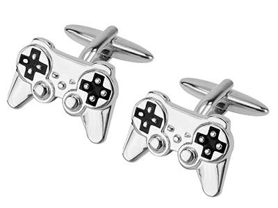 667-6R Video Game Controller Cufflinks
